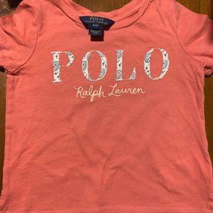 Polo Ralph Lauren Girls Cotton T Shirt